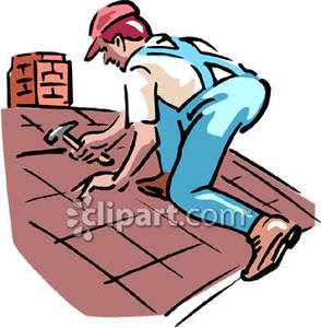 Man Working Clipart.