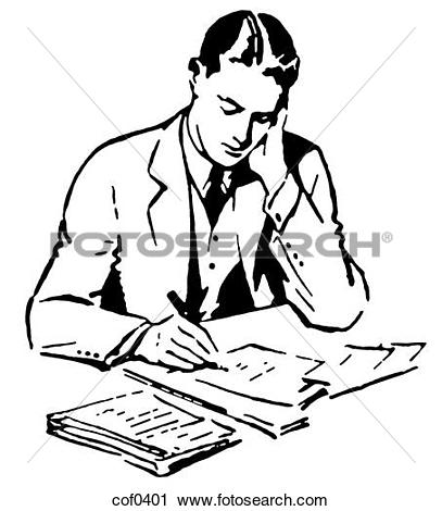 Clipart of man pleading for his job pgi0111.