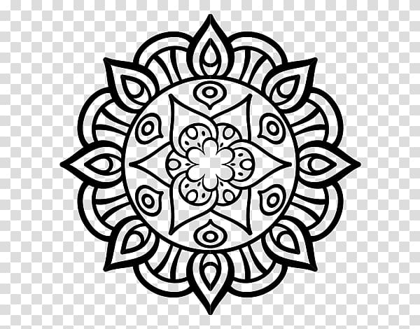 Mandala Coloring Pages Drawing Coloring book Mandala art.