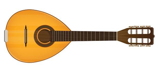mandolin Clipart Image.