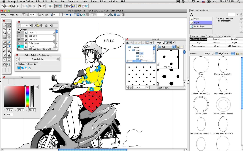 Amazon.com: Manga Studio Debut 4 (Win/Mac): Software.