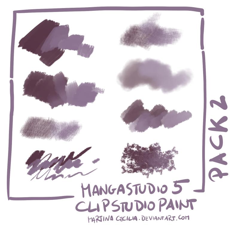 Free Brushes for Manga Studio 5/ Clip Studio Paint by.