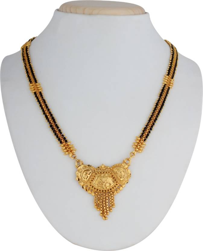 Archa Jewellery M4 Alloy, Yellow Gold Mangalsutra.