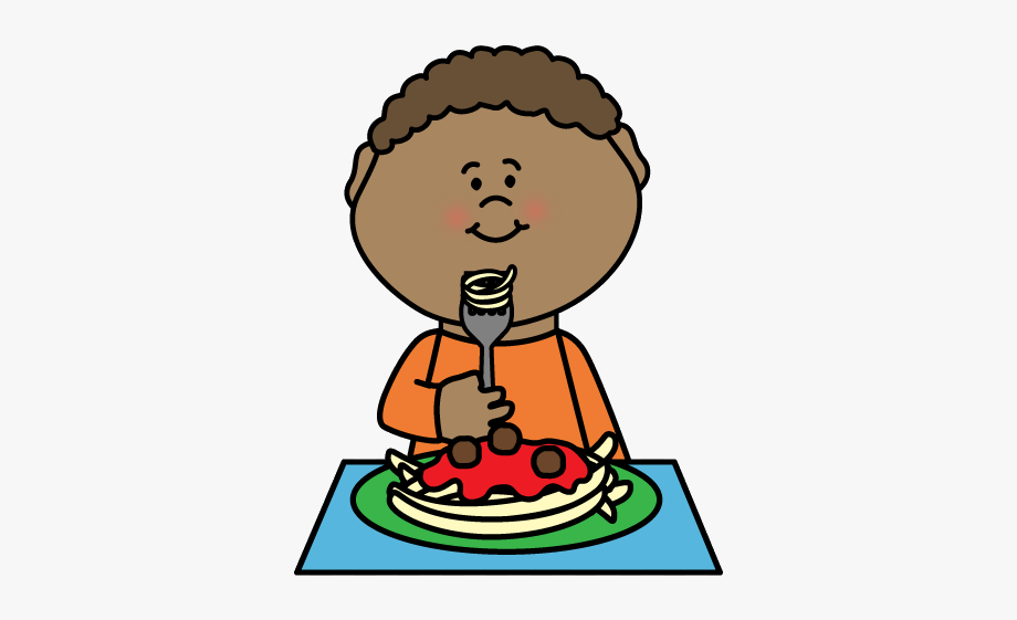 Healthy Food X Cool Clipart Of Eating Kid Clipartsgram.
