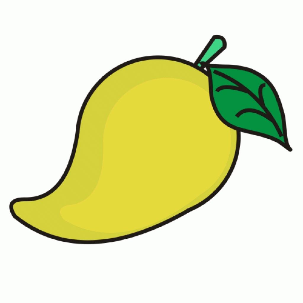 Mango clipart.