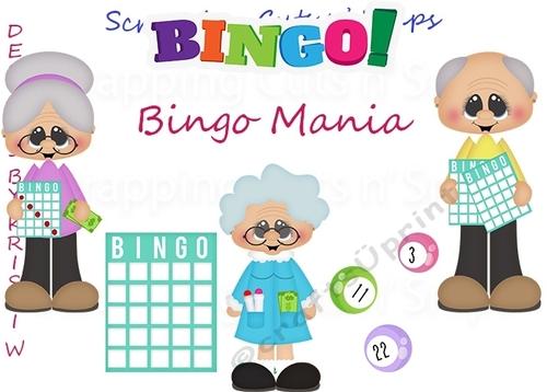 Bingo Mania ClipArt.