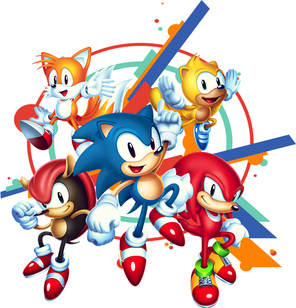 Sonic Mania Png Vector, Clipart, PSD.