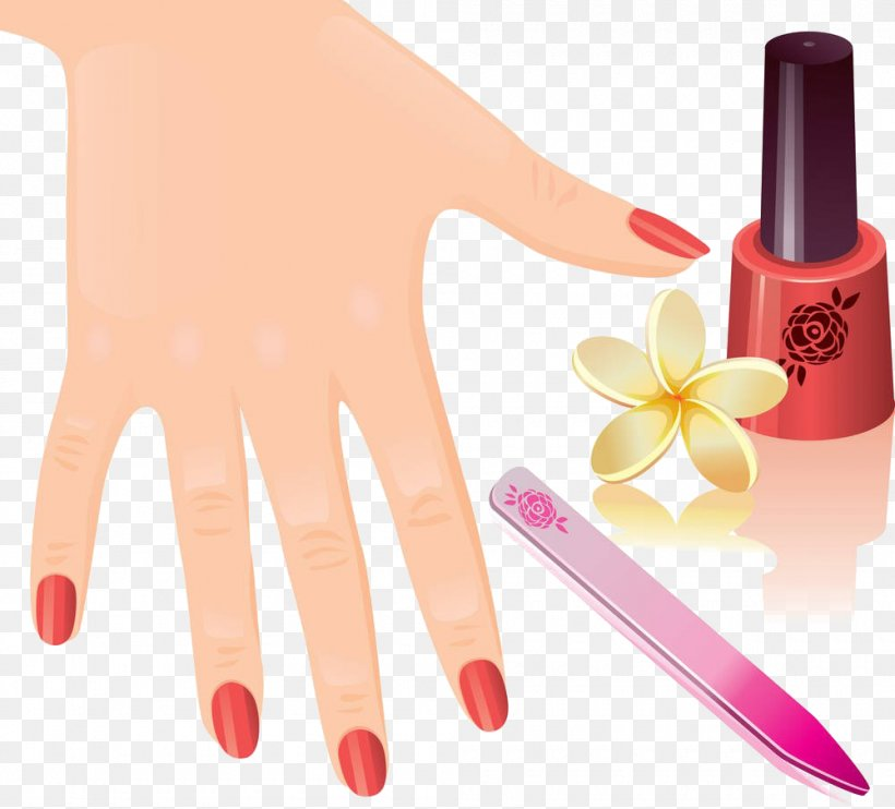 Manicure Nail Pedicure Royalty.