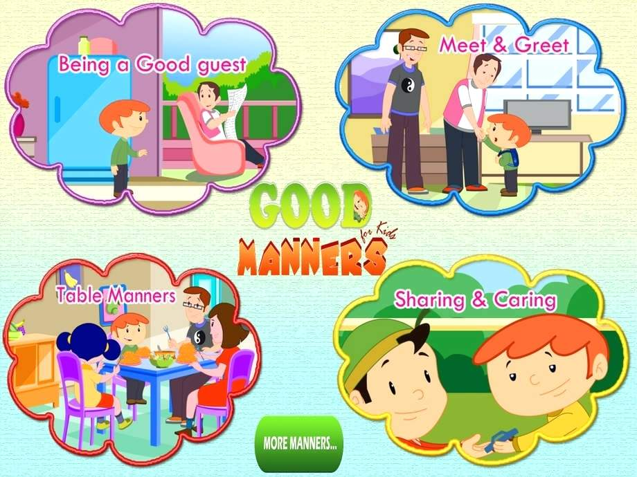 Good manners clipart 7 » Clipart Station.