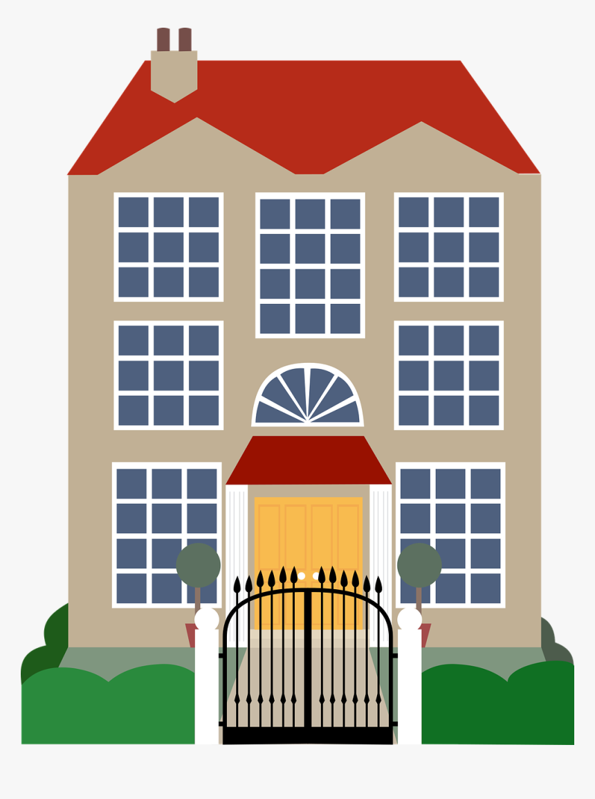 House Mansion Clip Art.