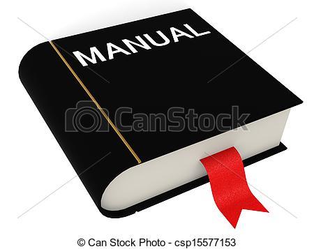 Manual book.