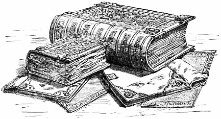 History Book Leather Bound Ledger Manuscript Old Books.