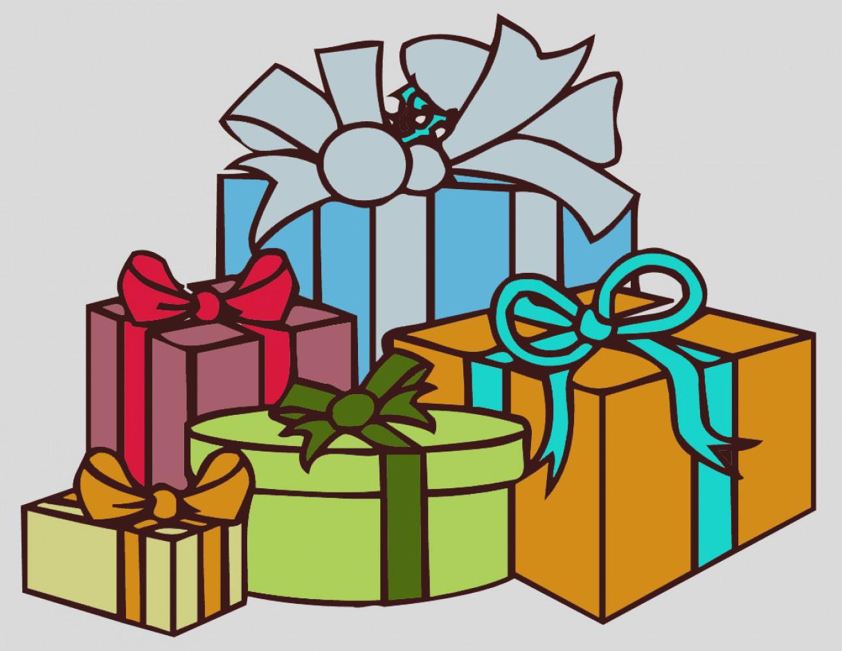 Gift clipart many.