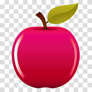 Manzana transparent background PNG cliparts free download.