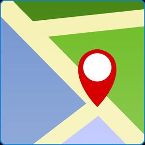 Google map pin art clipart.