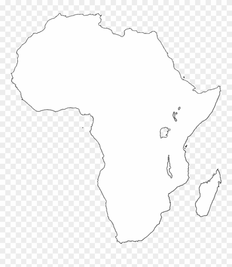 Africa Map Transparent Background Clipart (#725832).