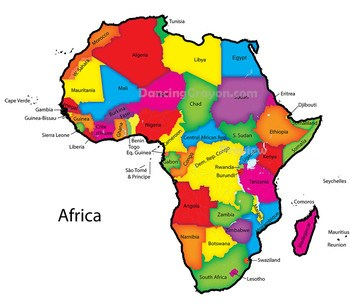 Map of africa clipart » Clipart Portal.