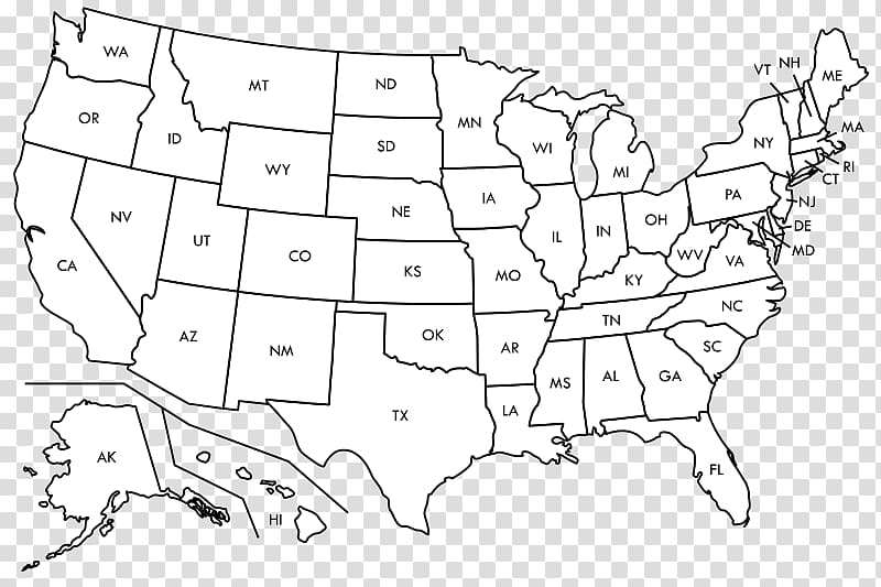 United States Blank map World map Label, america map.