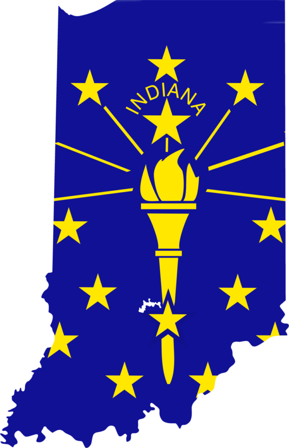 Free Clip art of Indiana Clipart #4905 Best Indiana Clipart Map.