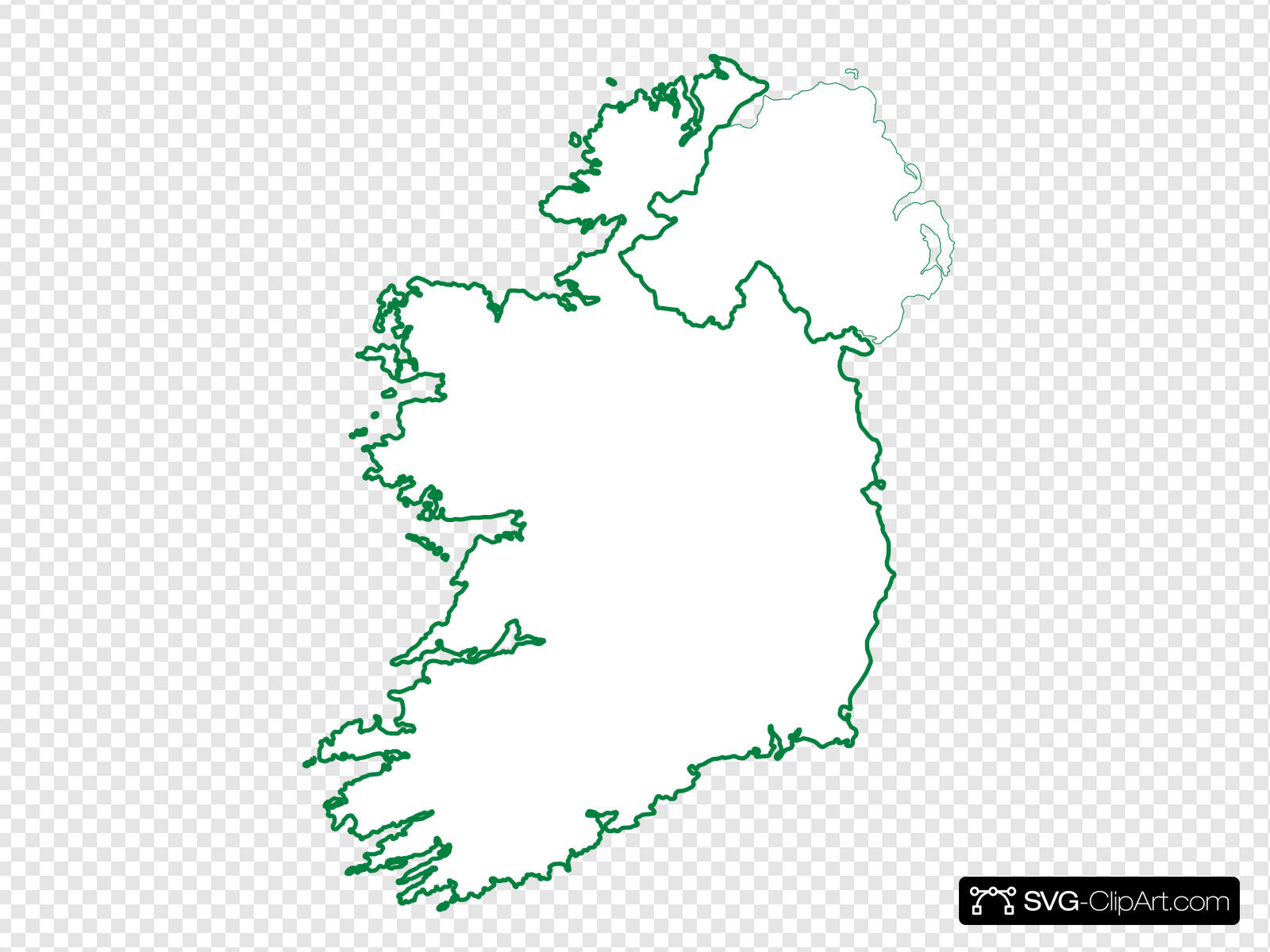 Tralee Ireland Map Clip art, Icon and SVG.