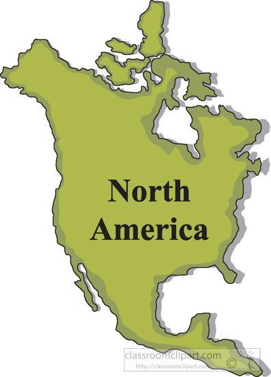 417 North America free clipart.