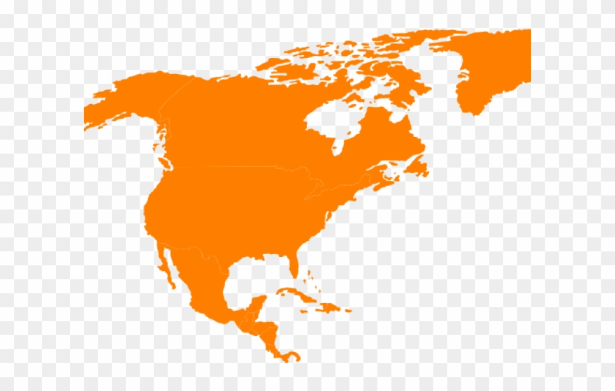 Map Clipart Continent.