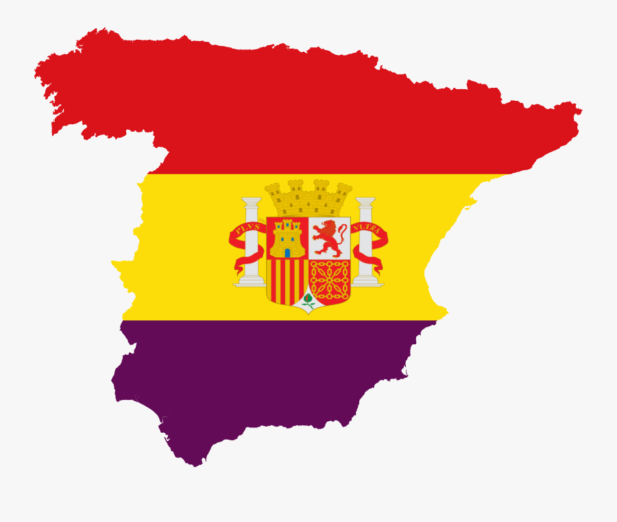 Flag Of Spain Francoist Spain Map, Spanish Png Clipart.