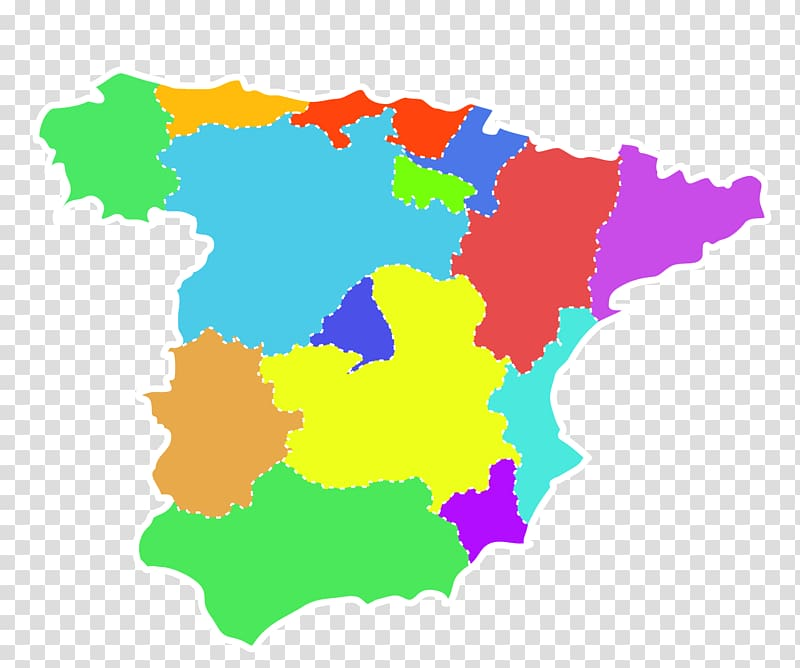 Spain illustration Illustration, Map transparent background.