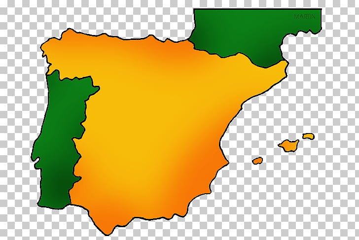 Flag of Spain Map , map PNG clipart.