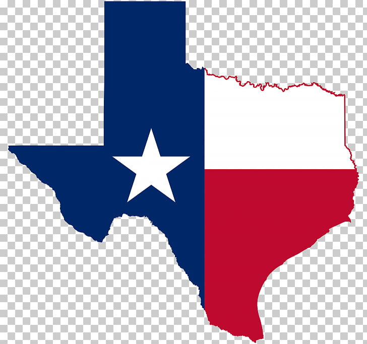 Flag of Texas Blank map, map PNG clipart.