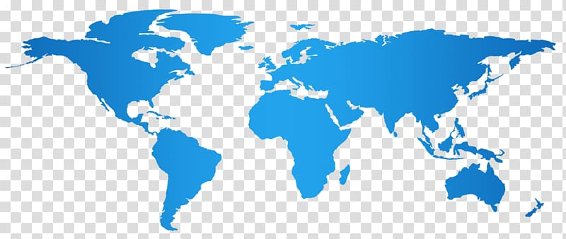World map Map, world map transparent background PNG clipart.
