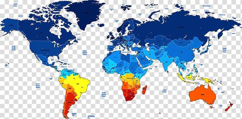 India United States World Globe Map, world map transparent.