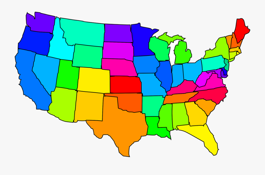 United States Clipart Map Usa.