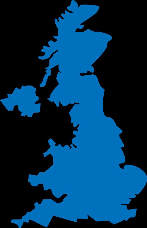 Free Clipart: United Kingdom map.