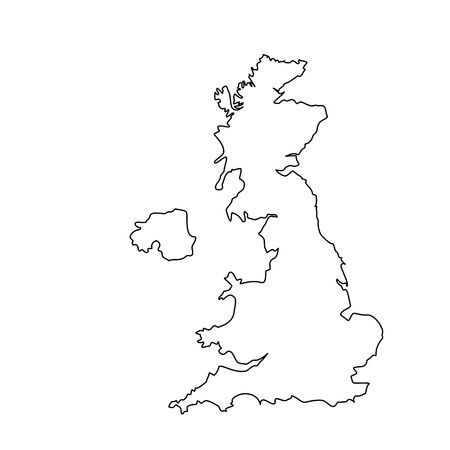 8,768 Britain Map Stock Vector Illustration And Royalty Free Britain.