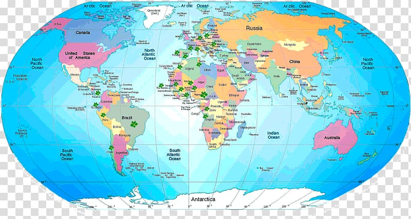 World map Mappa mundi Mapa polityczna, world map transparent.