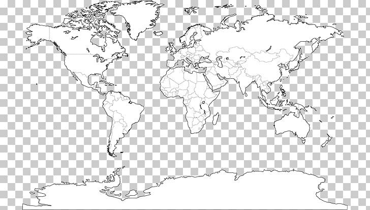 World map Mapa polityczna, Mapamundi PNG clipart.