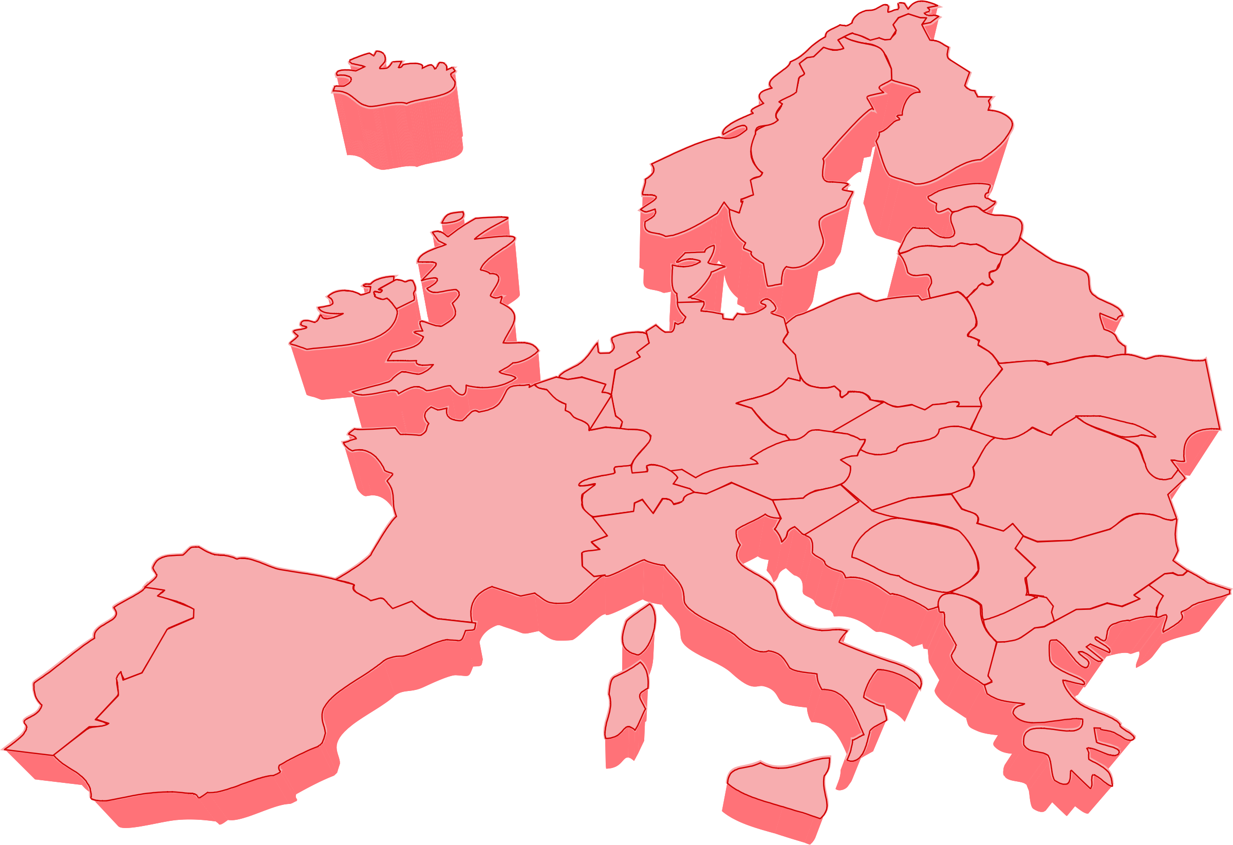 clipart maps of europe clipground