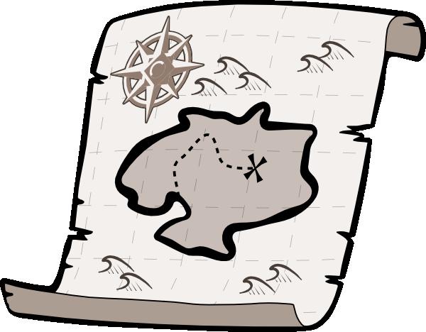 Treasure Map clip art.