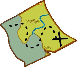 Treasure Map Clip Art at Clker.com.