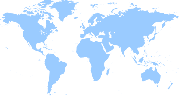 simple map of the world printable.