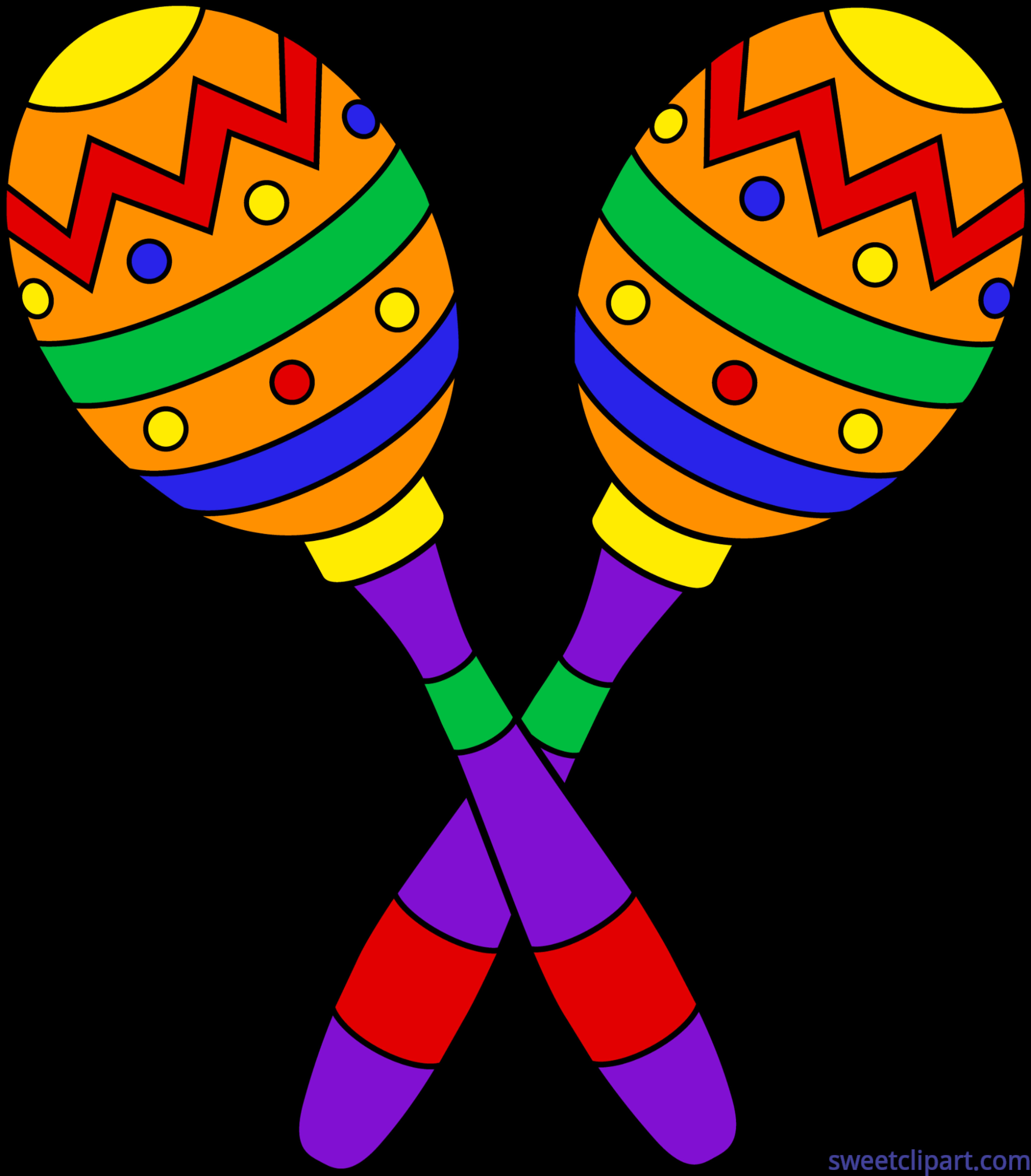 Maracas Clip Art.