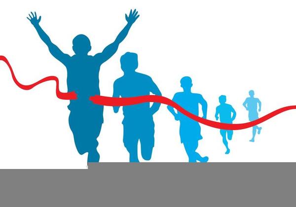 Free Marathon Runner Clipart.