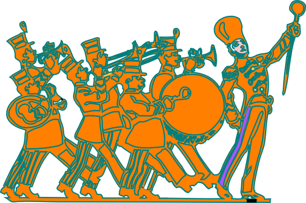Marching Band Clip Art at Clker.com.