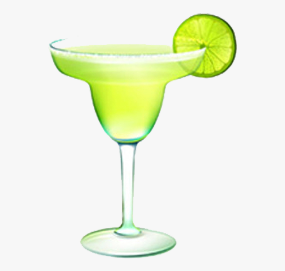 Margarita Cocktail Tequila Sunrise Clip Art.