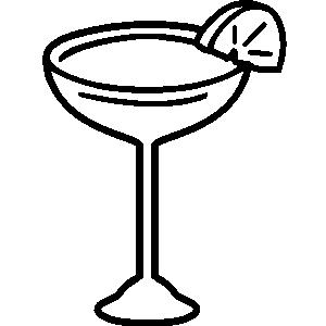 Clip art margarita glass clipart image 2.