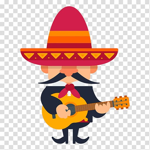 Mariachi Drawing, Trumpet transparent background PNG clipart.