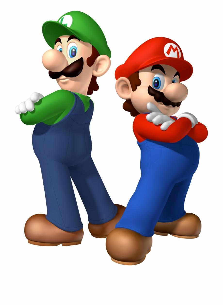 Mario Bros Transparent Background.