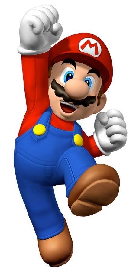 Nintendo Super Mario Party Clipart Printables.