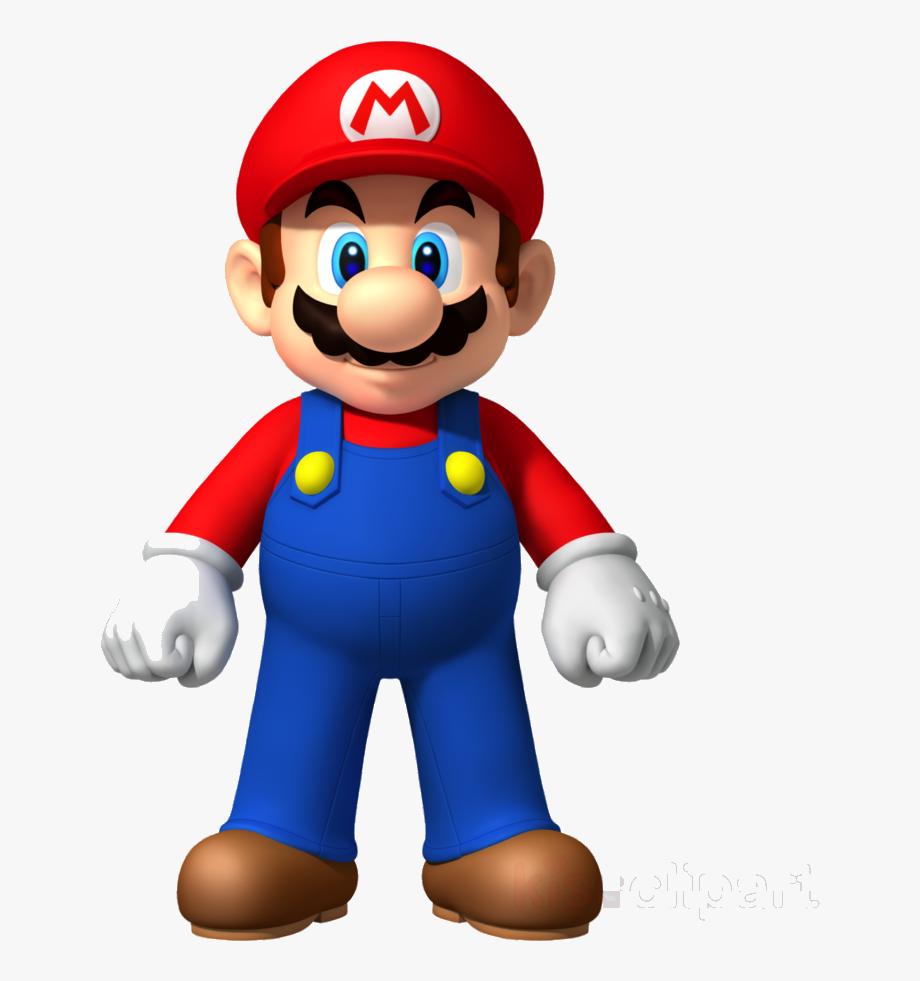 Mario Super Clipart New Bros Wii Luigi Transparent.